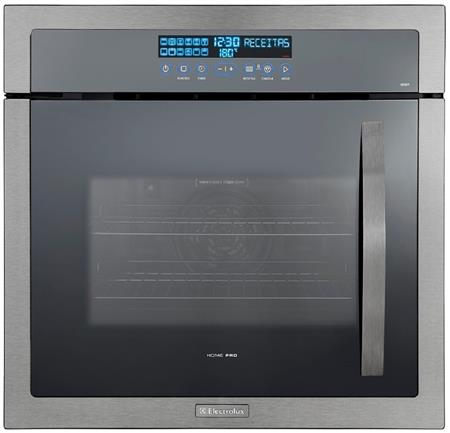 Horno Empotrable Electrolux Oe9st 70lts Inox 12 Progamas